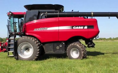 Case 8010 Header Tuned for Performance and Economy