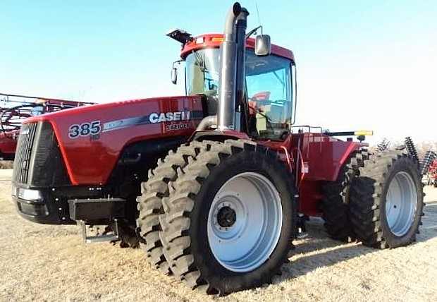 CaseIH Steiger 385 Tuned For Power and Economy