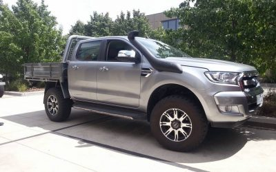 Feedback from a customer with a Ford Ranger 3.2 TDCI PX2
