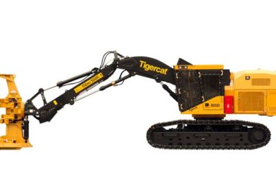 Tigercat 855D Feller Buncher Adblue / SCR / DEF Solution