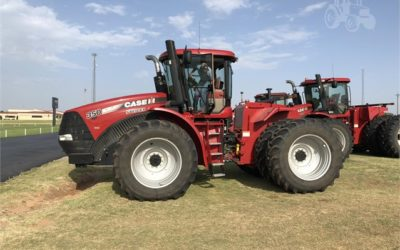 Case 350 Steiger Tuned in USA