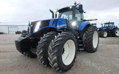 New Holland T8 435 Tuned For 45HP Increase