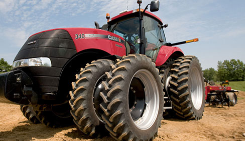 CASE IH MAGNUM 240 Tuned With 40 HP Extra In Indiana, USA